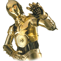 256x256 C3po Vector Free Download On Mbtskoudsalg