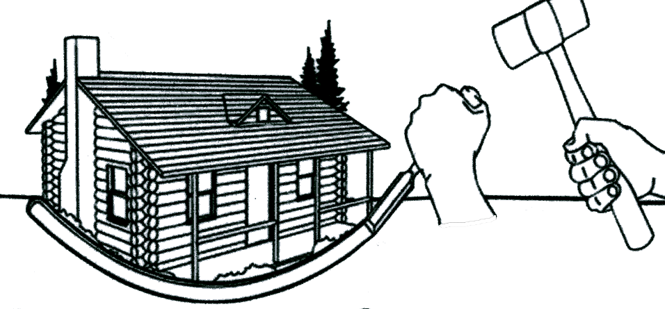 956x445 Cabin Vector Black And White Library Free Download On Melbournechapter