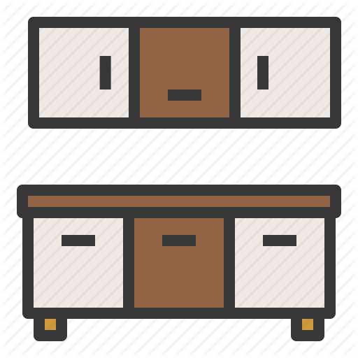 512x512 Collection Of Free Kitchen Vector Cabinet. Download On Ubisafe