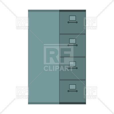 400x400 File Cabinet Closed