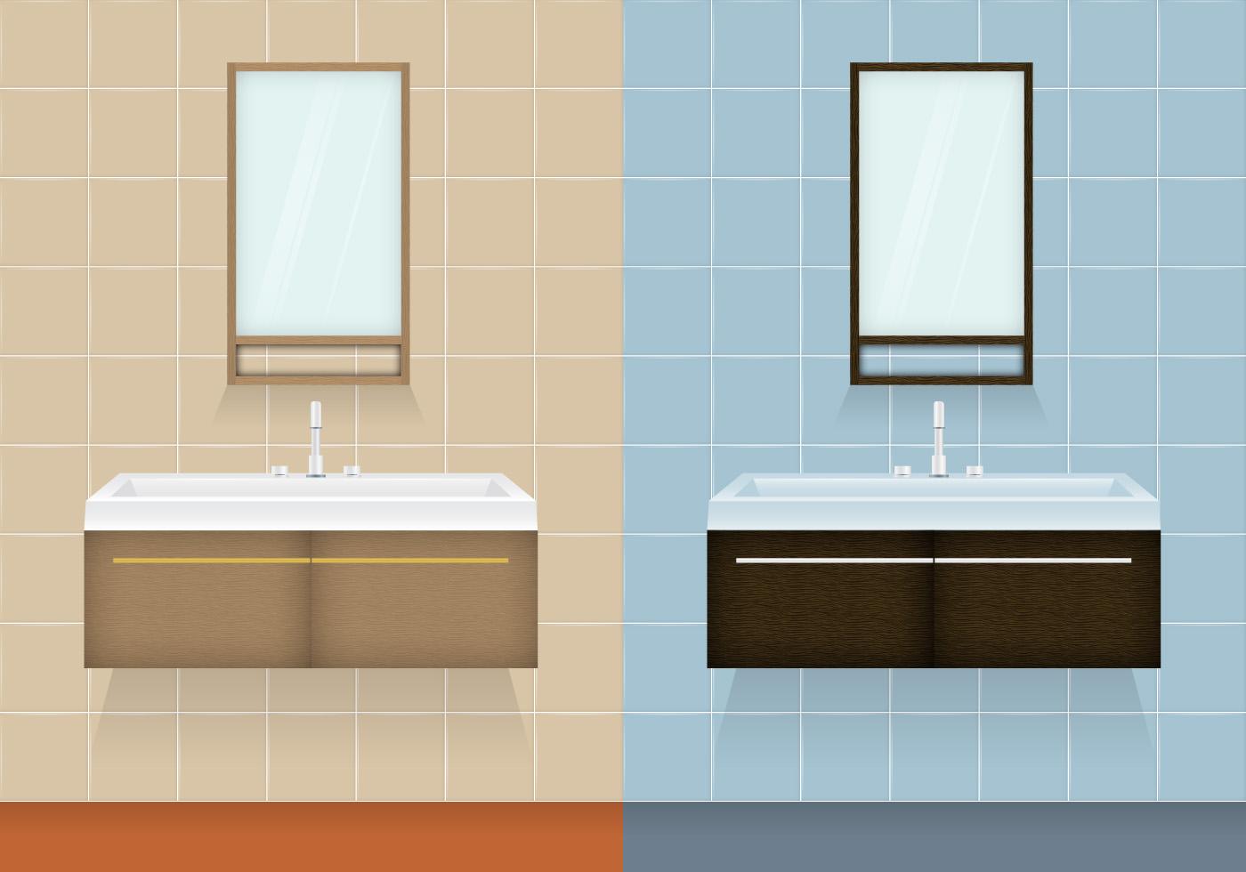 1400x980 Free Vector Bathroom Cabinet Vectors
