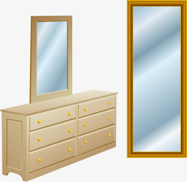 650x630 Png Cabinet Dressing Mirror Vector Elements, Dressing Cabinet