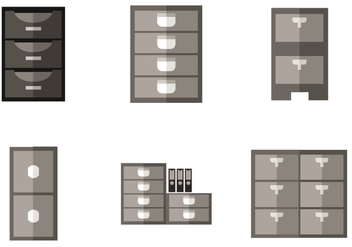 352x247 Cabinet Icons Free Vector Download 374951 Cannypic