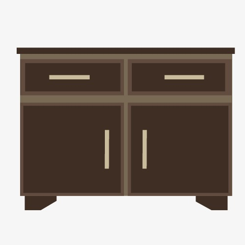 500x500 Tv Cabinet Vector, Tv Vector, Vector, Cabinet Png And Vector For