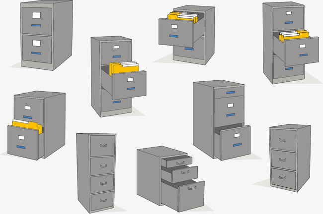 650x432 Vector File Cabinet, File Cabinets, Vector, Safe Png And Vector