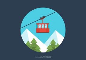 285x200 Cable Cars Free Vector Graphic Art Free Download (Found 2,659