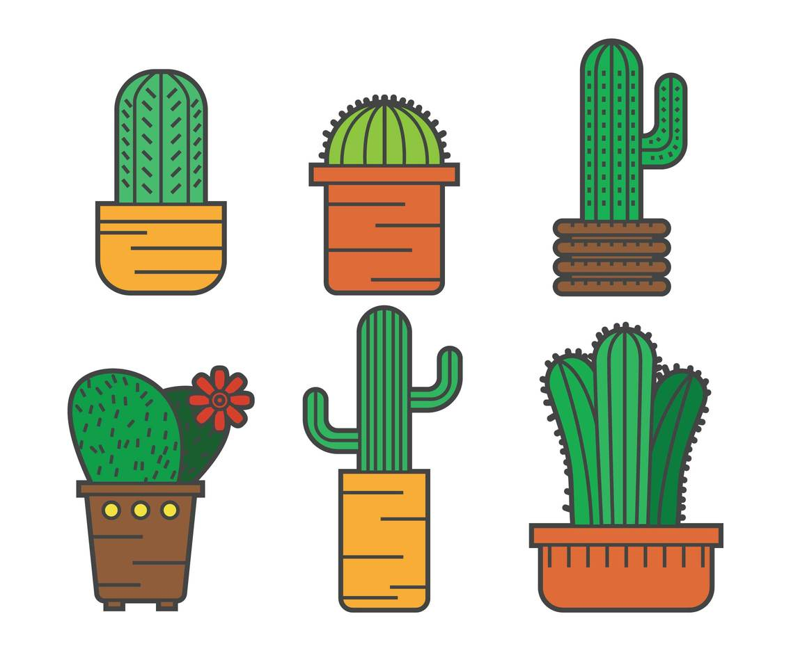 1136x936 Cactus Vector Pack Vector Art Amp Graphics