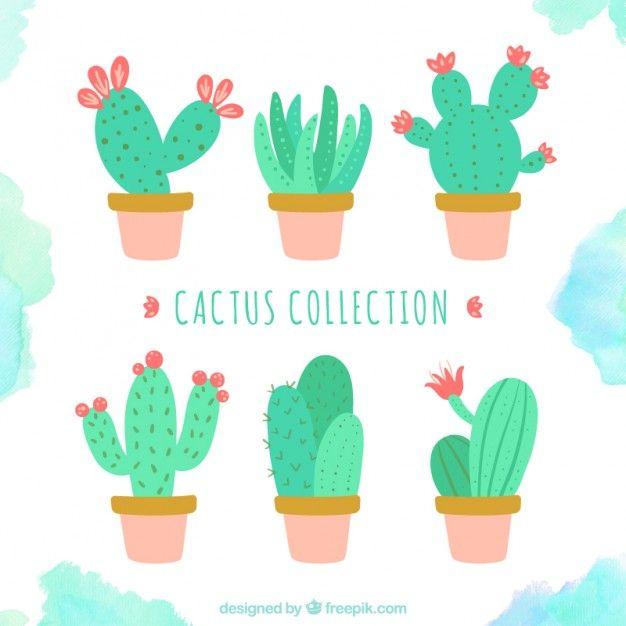 626x626 Cute Cactus Collection Scrapbooking Cacti, Journal