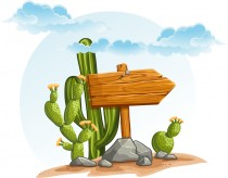 210x164 Desert Cactus Vector Free Download Free Vector Graphic Download