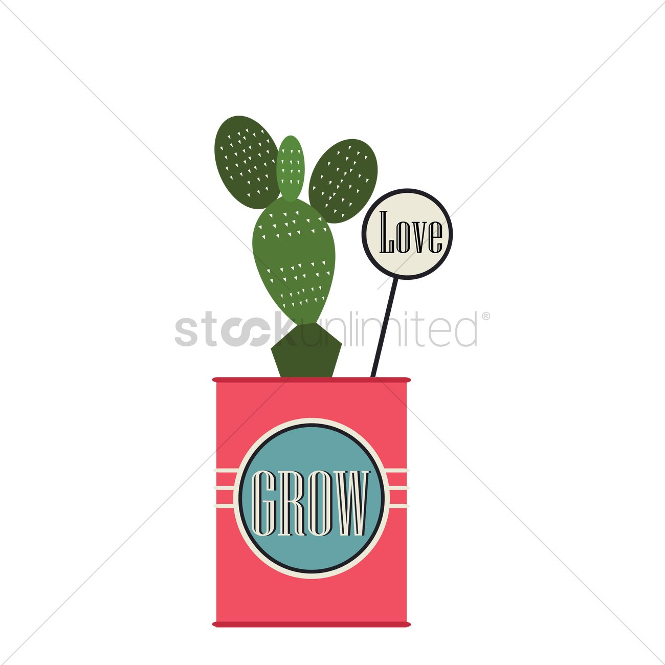 1300x1300 Free A Cactus Vector Image