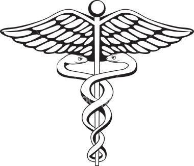 Caduceus Symbol Vector