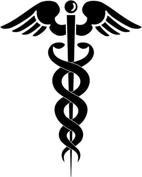 480x599 Caduceus Clip Art Free Vector In Open Office Drawing Svg ( .svg
