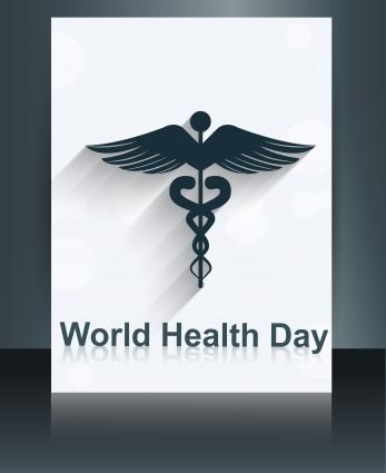 347x425 Caduceus Medical Symbol Brochure Colorful Template World Health
