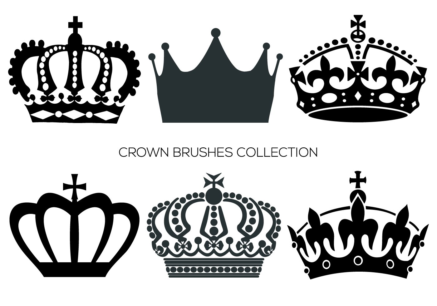 1400x980 Crown Free Brushes