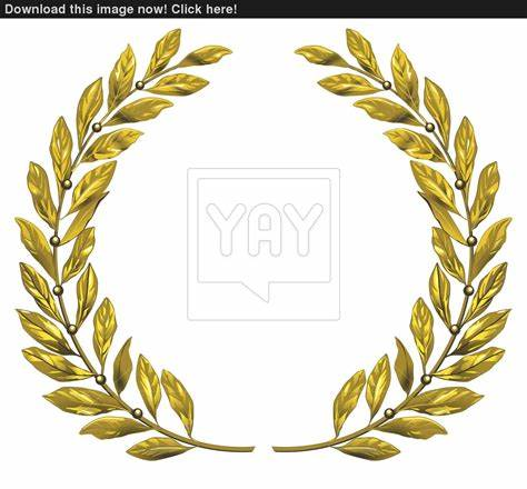 474x440 Gold Wreath Vector. Gold Wreath Clip Art At Hasshe