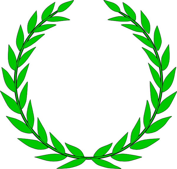 600x573 Olive Crown Vector Library Download