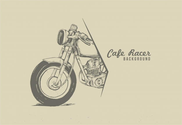 Cafe Racer Vector At Getdrawings Com Free For Personal Use Cafe