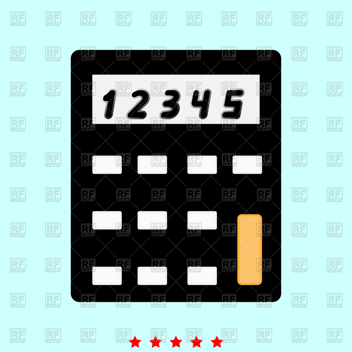 1200x1200 Calculator Icon Vector Image Vector Artwork Of Icons And Emblems