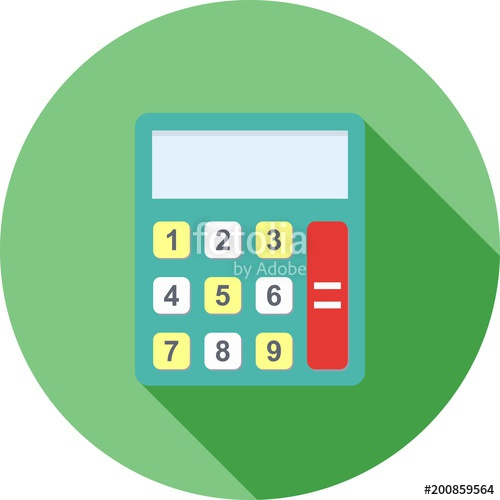 500x500 Calculator Icon S Stock Image And Royalty Free Vector Files On