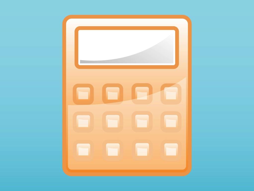 1024x768 Calculator Icon Vector Art Amp Graphics