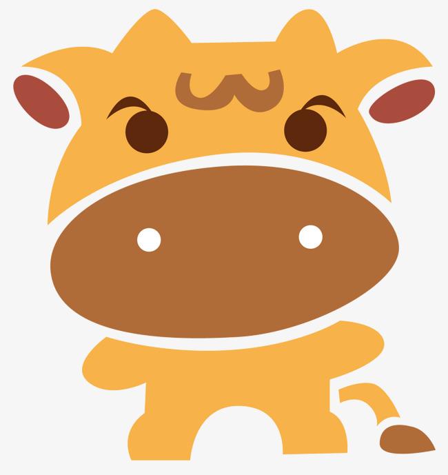 650x689 Cartoon Calf, Vector Diagram, Animal, Calf Png And Vector For Free