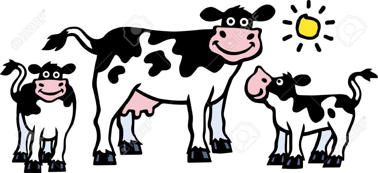 1300x595 Clipart Of Cow And Calf Amp Clip Art Of Cow And Calf Images