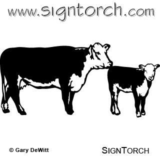 320x320 Cow Clipart Calf