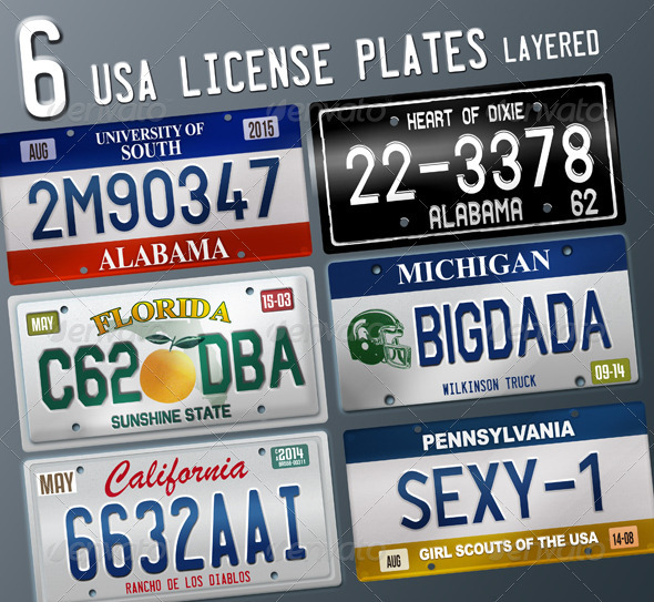 California License Plate Vector at GetDrawings com | Free for