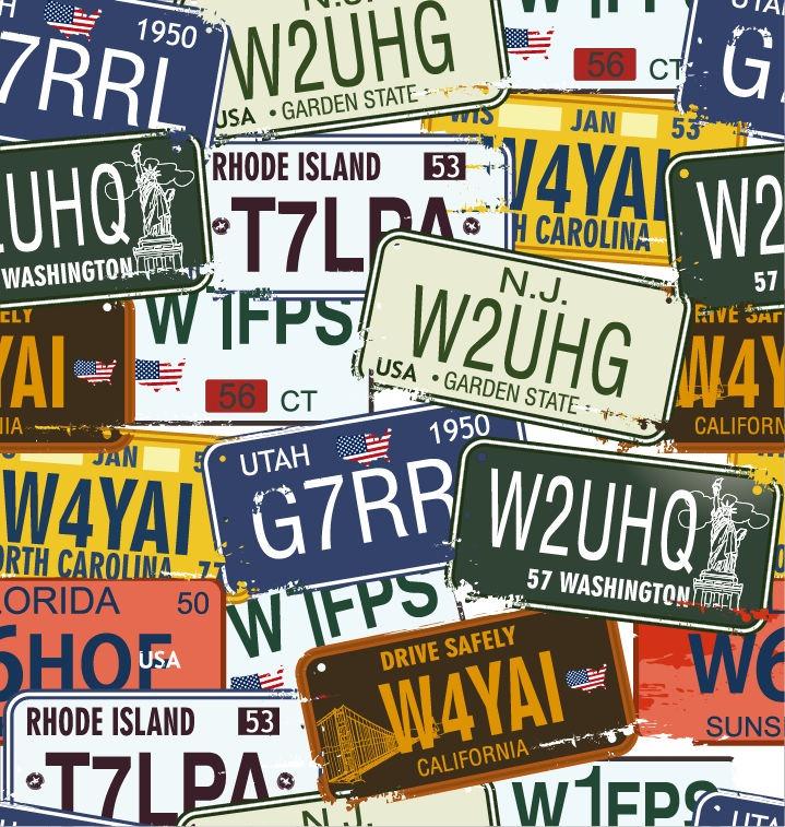 California License Plate Vector at GetDrawings com   Free