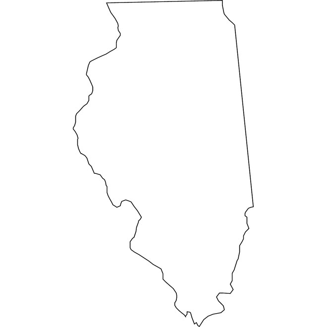 660x660 California State Map Outline Vector Map Of California Download