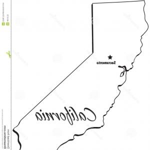 300x300 Stock Photography State California Outline Image Orangiausa