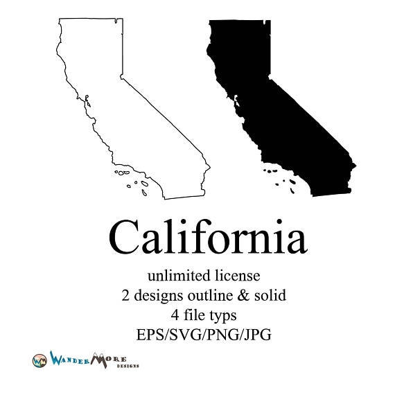 570x573 California Vector State Clipart California Svg State Png