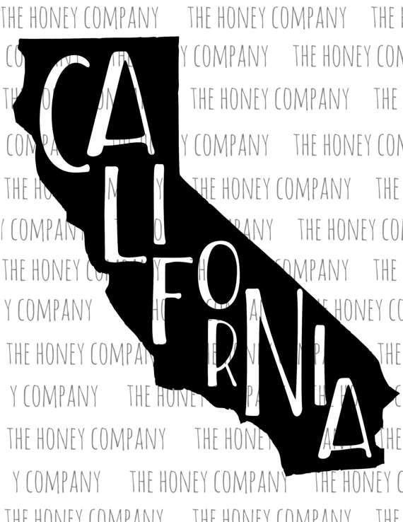 570x738 California Svg Png Dxf State Outline Instant Download Silhouette