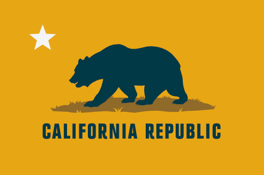 California Republic Logo Vector