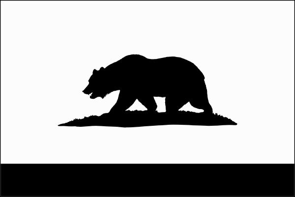 600x401 California Clipart California Flag Clipart