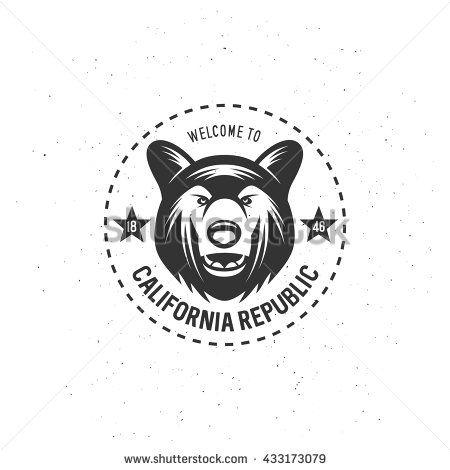 450x470 California Republic T Shirt Vector Graphics. California Related
