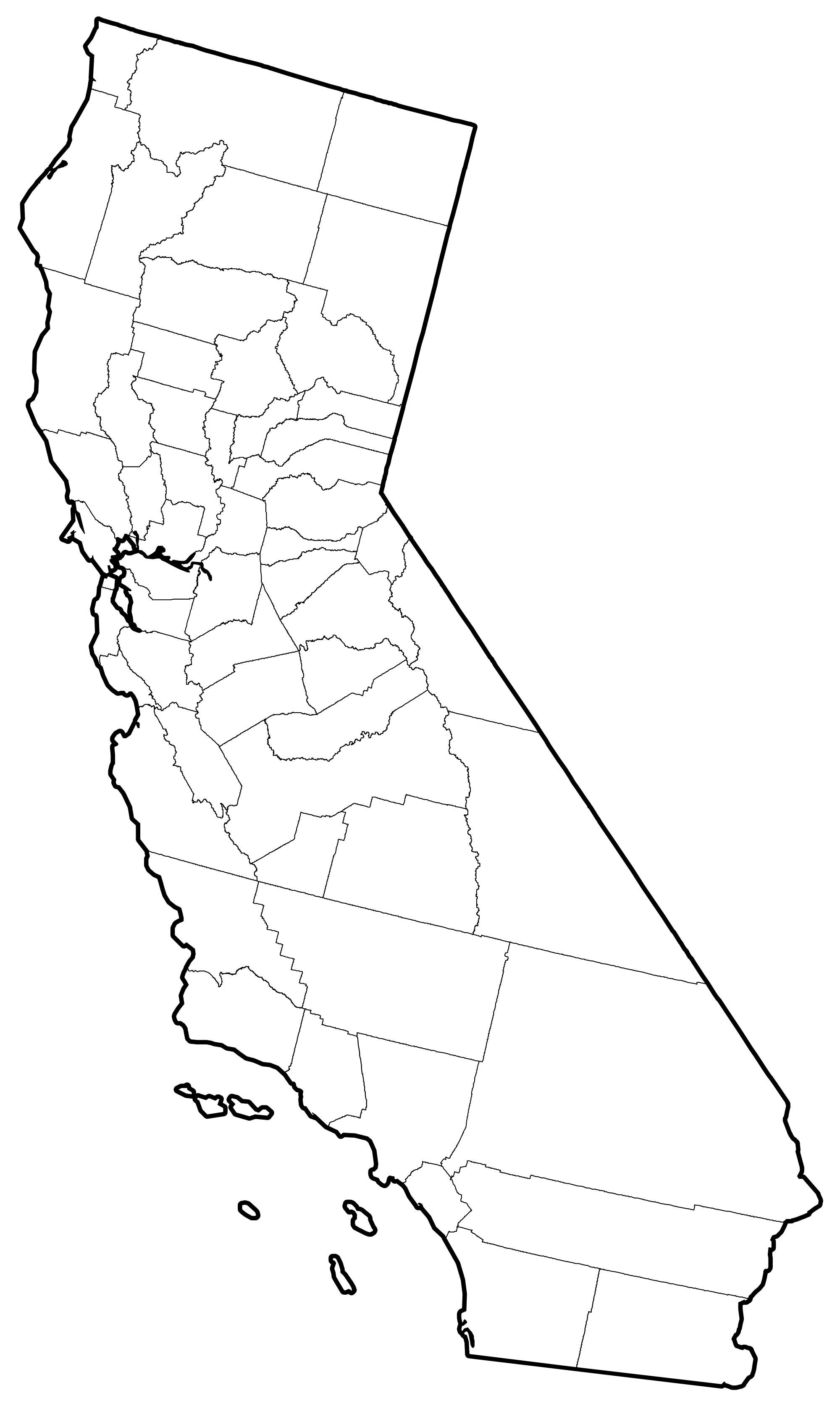 California State Vector