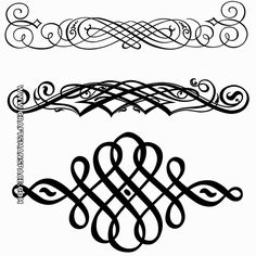 236x236 451 Best Calligraphy Flourishes Images Moldings