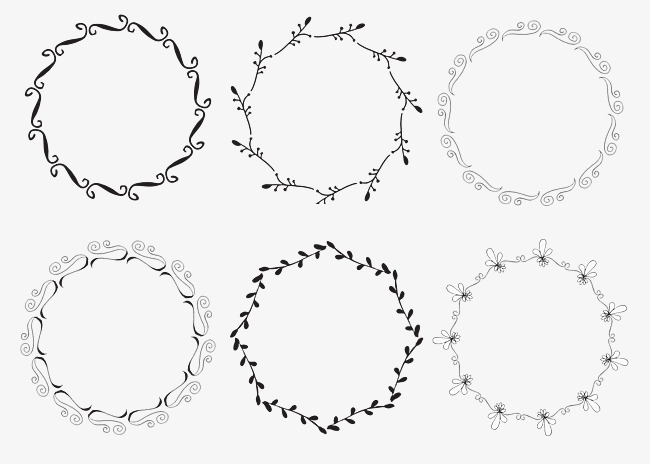 650x464 Round Border, Simple Style, Fashion, Round Png And Vector For Free