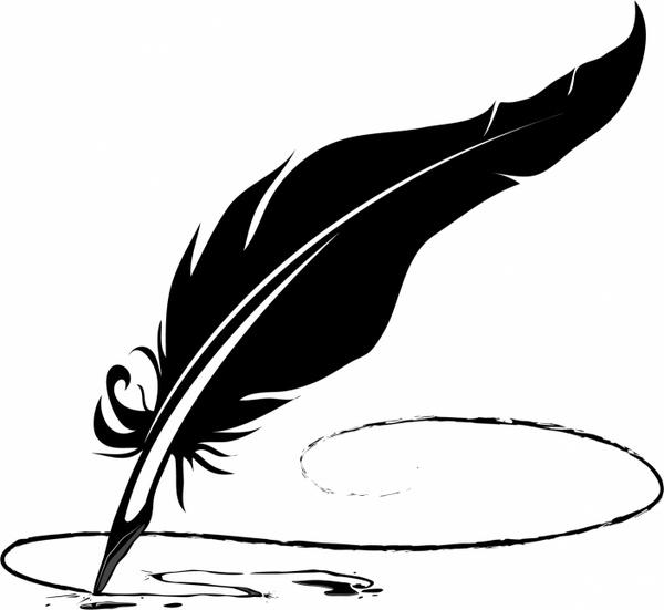 600x551 Feather Pen Free Vector In Adobe Illustrator Ai ( .ai