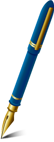 231x600 Fountain Pen Vector Clipart Panda