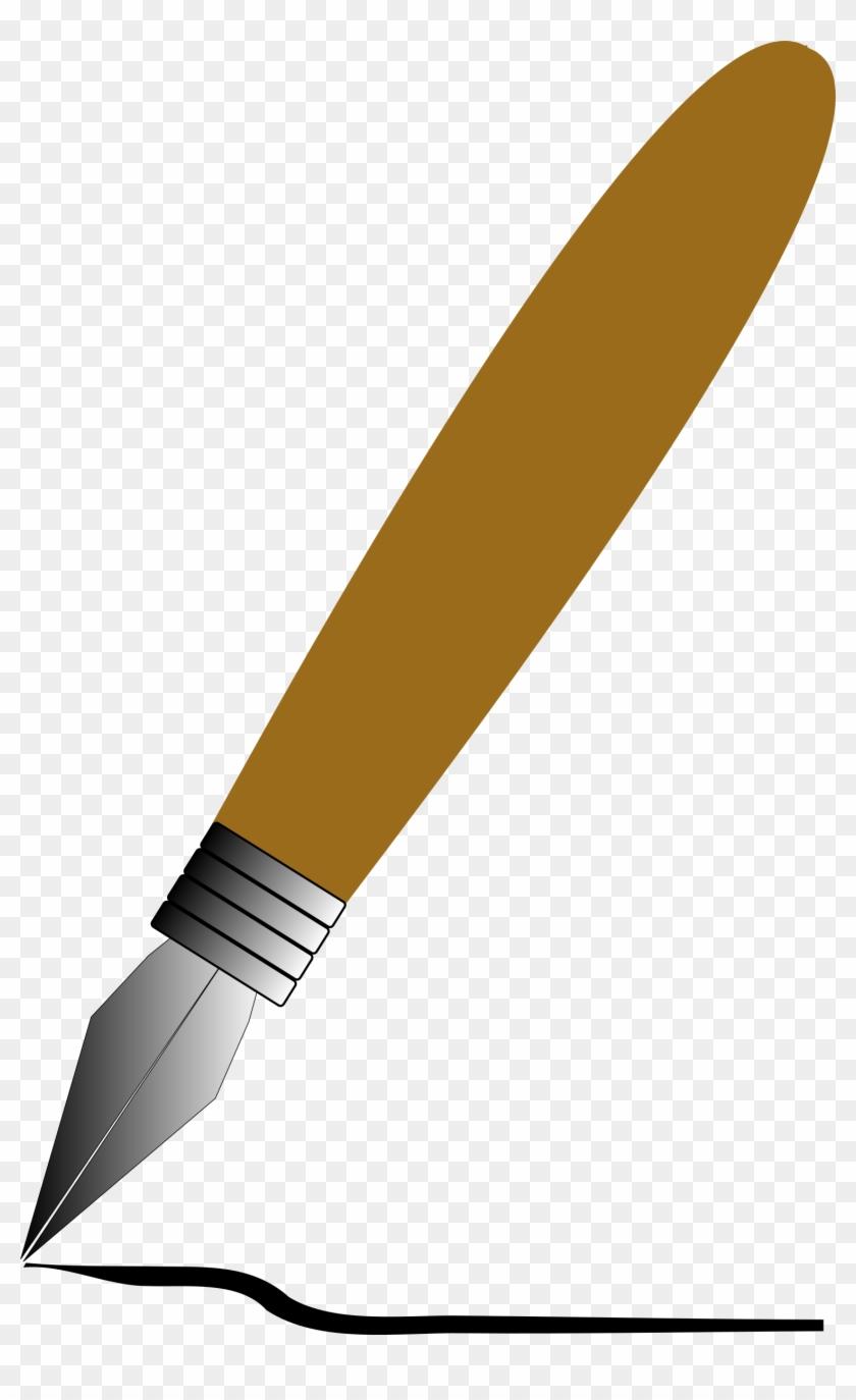 840x1374 Free Vector Fountain Pen Clip Art