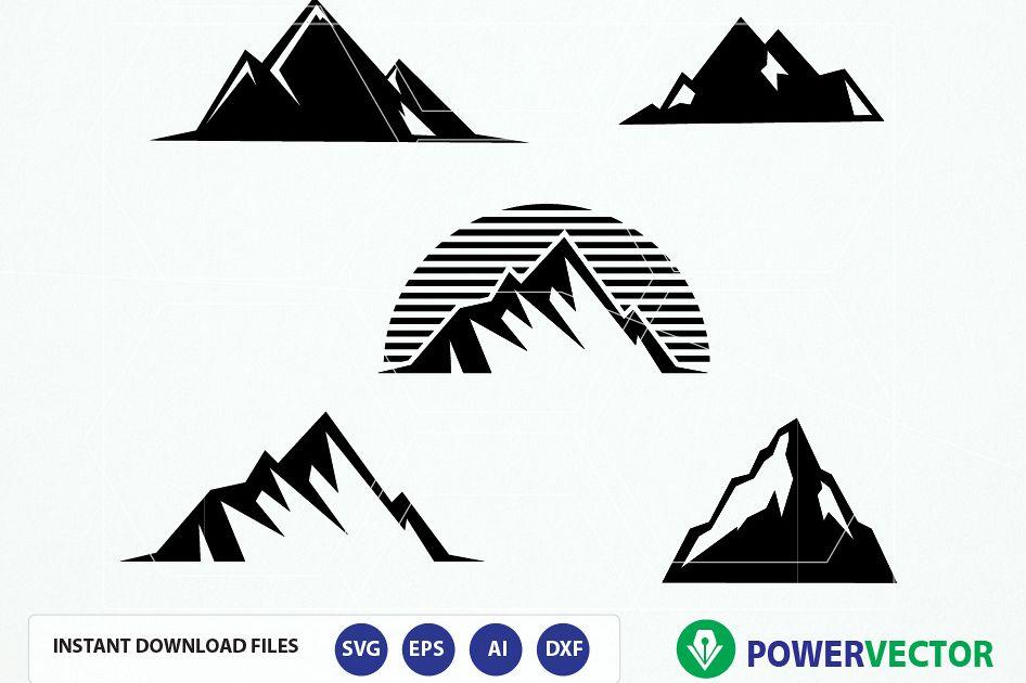 946x630 Mountain Svg File. Mountain Vector. Mountain Clipart. Mountain