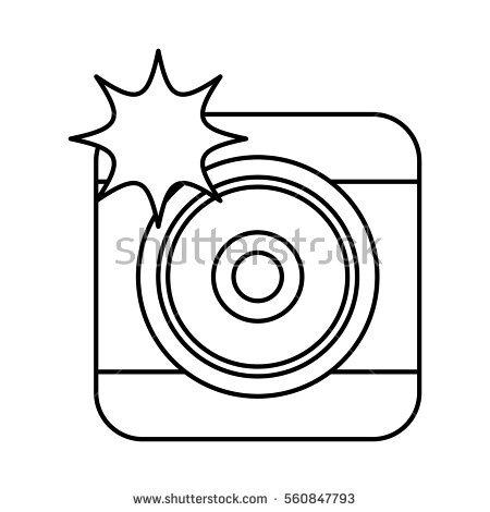 Camera Flash Vector