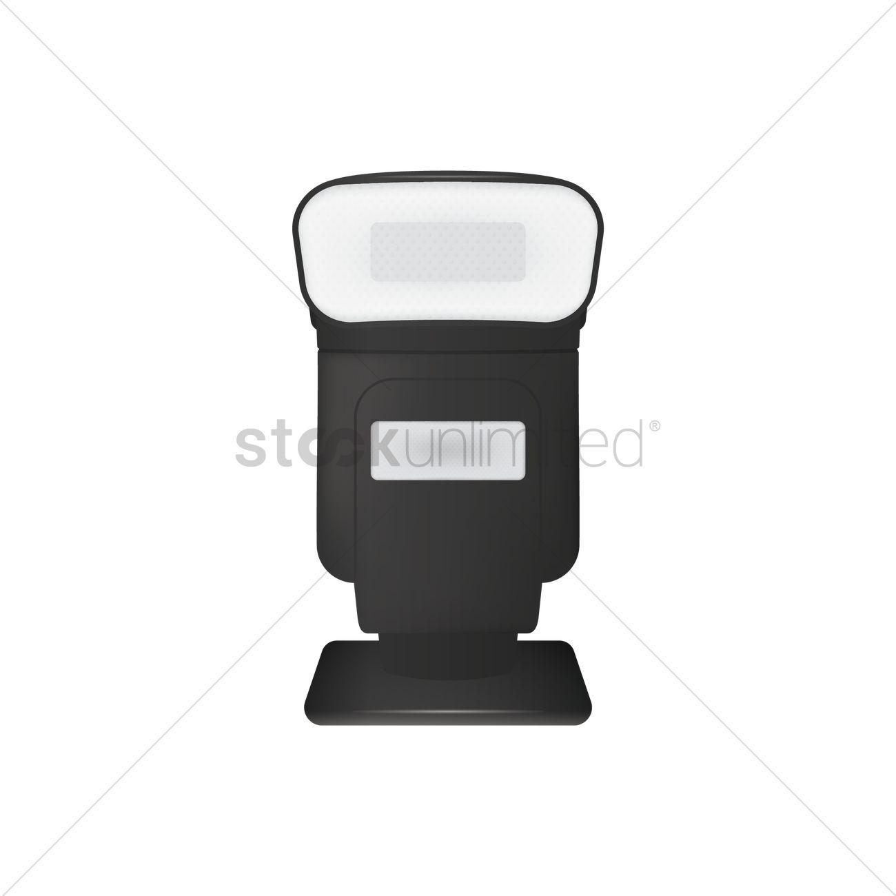 1300x1300 Camera Flash Vector Image