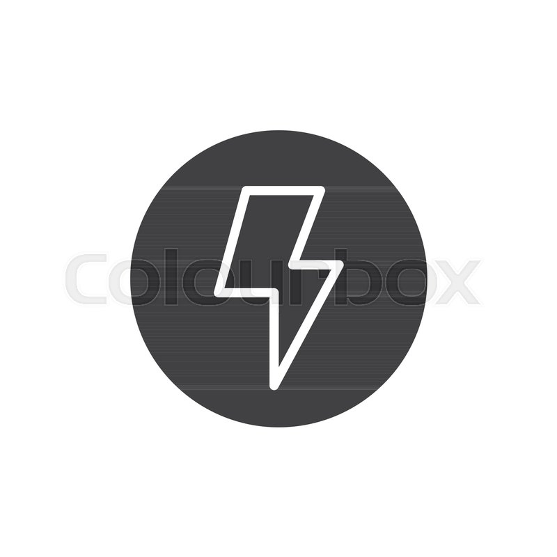 800x800 Camera Flash Icon Vector, Filled Flat Sign, Solid Pictogram