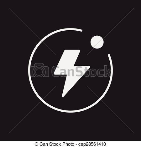 450x470 Camera Flash Mode Icon Vector Clip Art