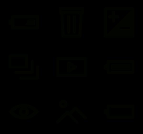 600x564 Flash Icons