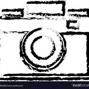 300x300 Photo Camera Flash Lens Image Sketch Vector Orangiausa