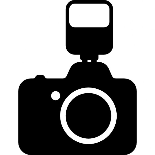 626x626 Photo Camera With A Flash Icons Free Download